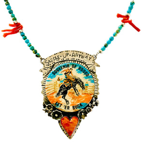 Saddle Up Anyway Necklace