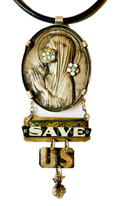 Save Us Necklace