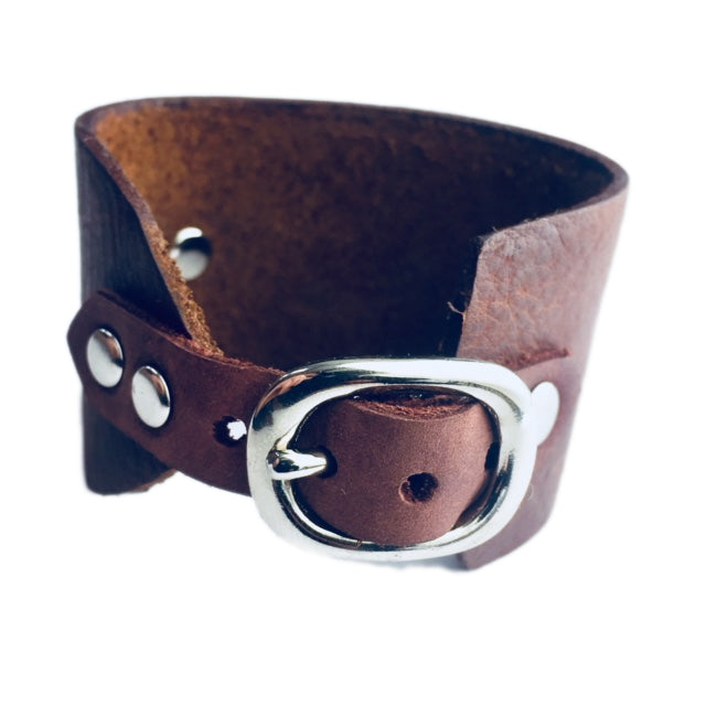 Release The Vision Leather Cuff