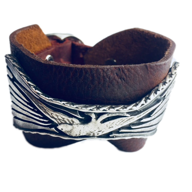 New Dawn Leather Cuff