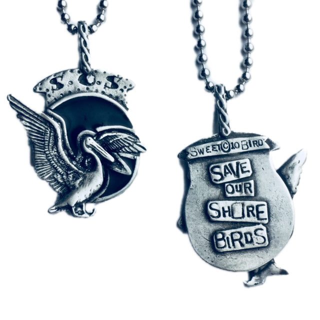 Save Our Shore Birds Pendant