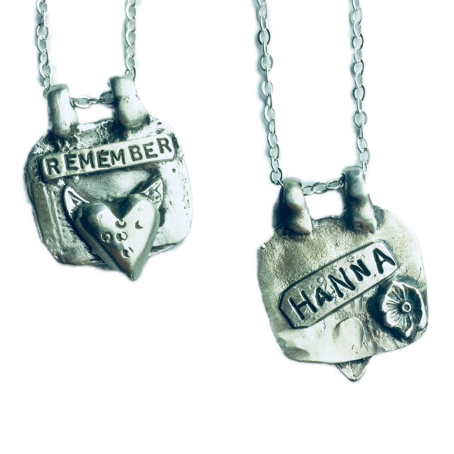 Customizable Remember Pendant
