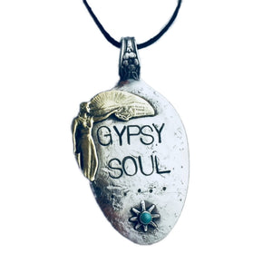 Gypsy Soul Spoon Necklace