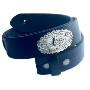Milagro Concho Leather Belt