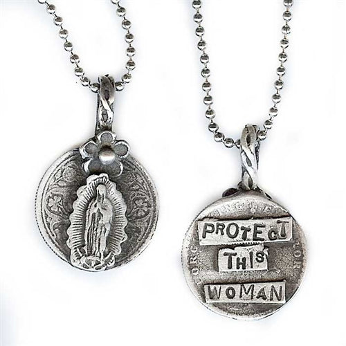 Protect This Woman Pendant