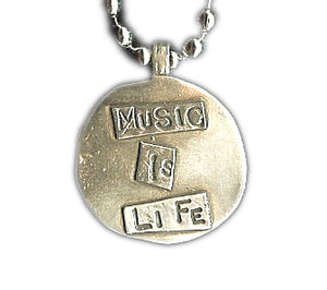 Music Is Life Charm