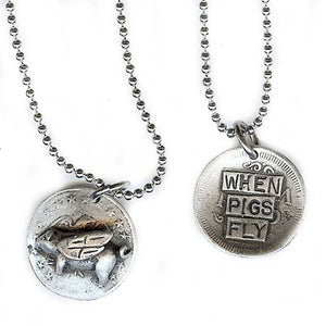 When Pigs Fly Pendant