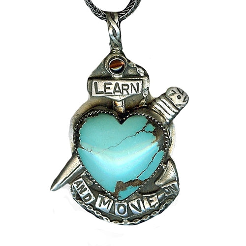 Learn and Move On Necklace