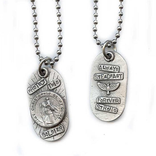 Protect This Soldier Pendant