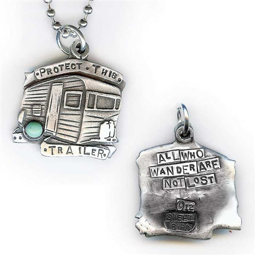 Protect This Trailer Pendant