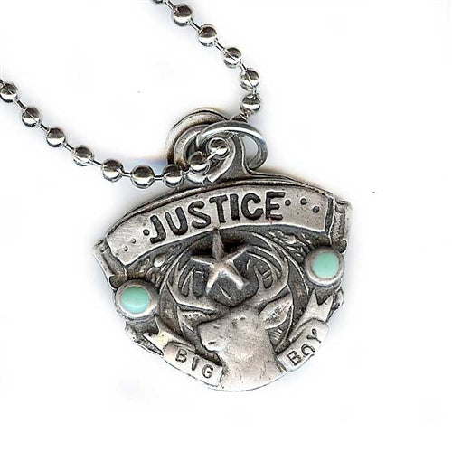 Justice for Big Boy Necklace