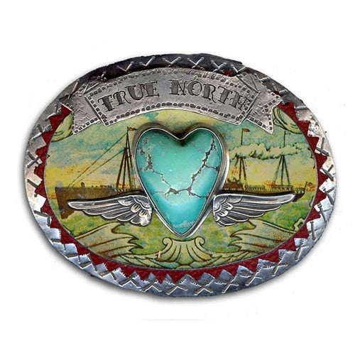 True North Belt Buckle