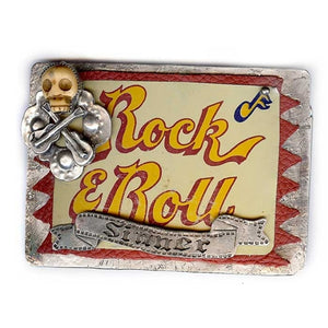 Rock & Roll Sinner Belt Buckle