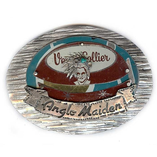 Anglo Maiden Belt Buckle