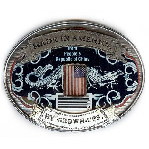 Made In America Belt Buckle