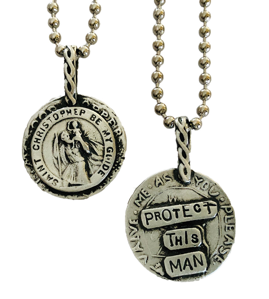 Protect This Man Necklace