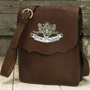 Nature Is My Church Messenger Bag - Espresso