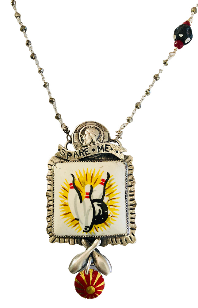 Spare Me Jesus Necklace