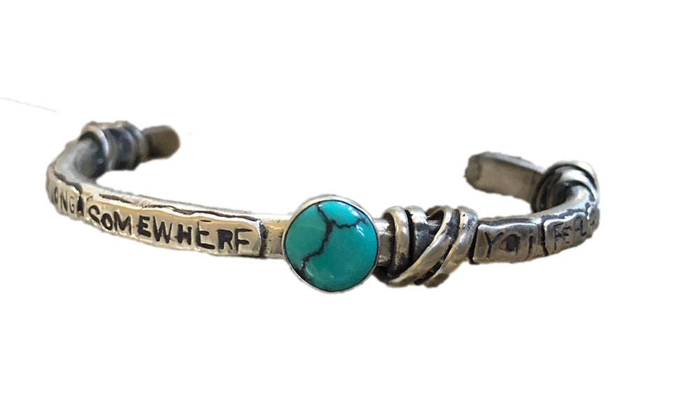 You Belong Somewhere You Feel Free Bracelet