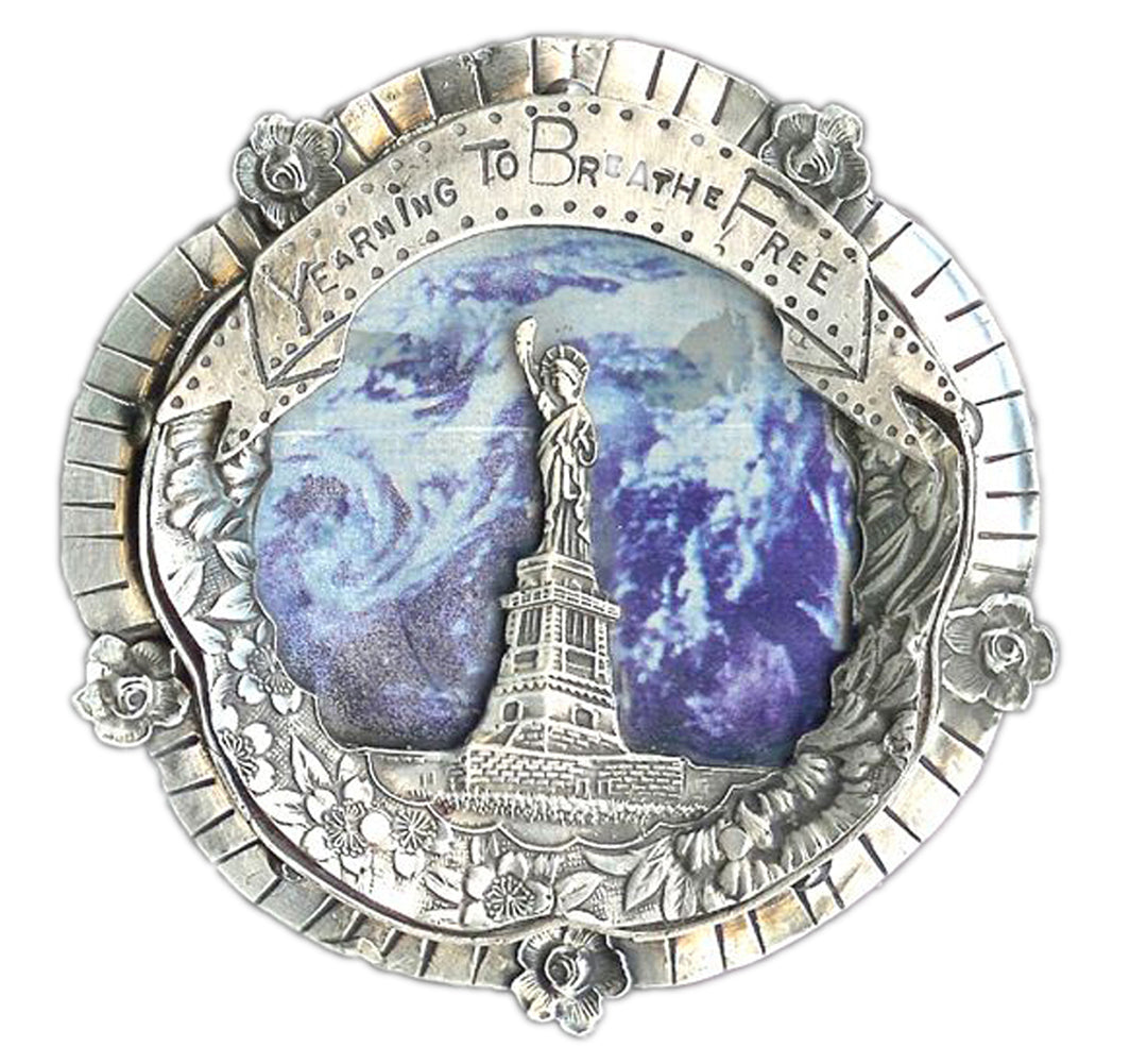 Yearning To Breathe Free Belt Buckle