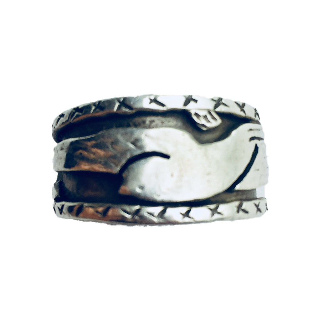 Bird In Flight Ring