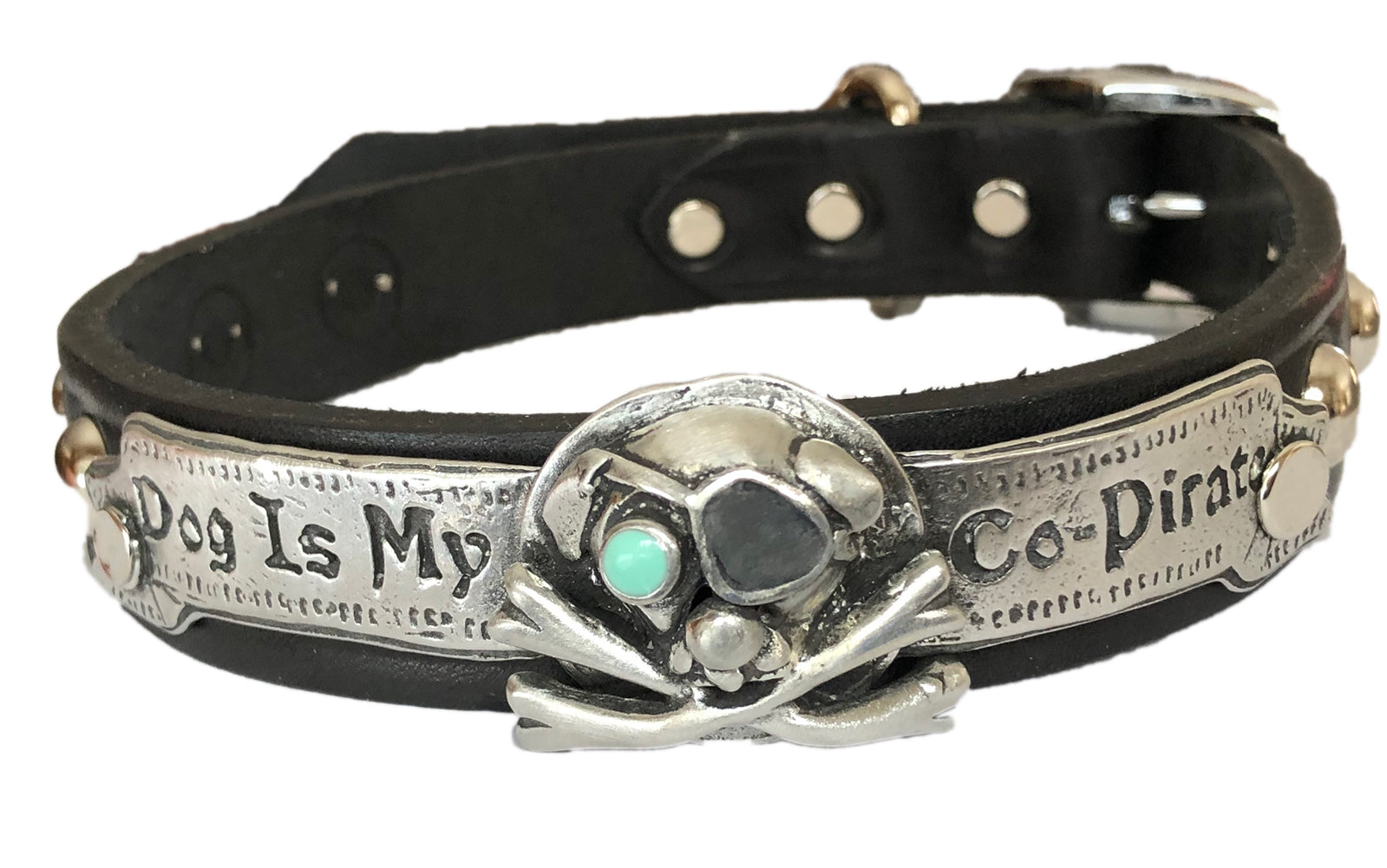 Dog Is My Co-Pirate Dog Collar