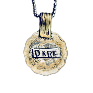 Dare Coin Pendant