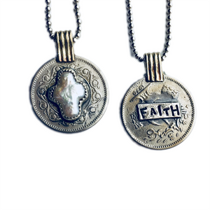 Faith Coin Pendant