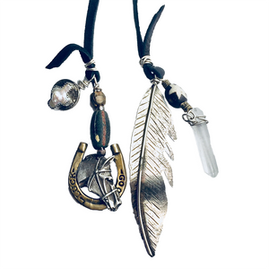 Horse Feathers Necklace