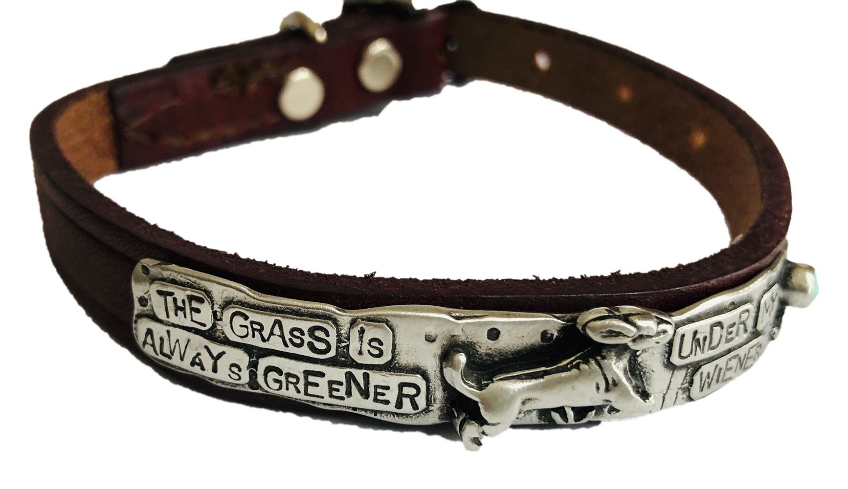 The Grass Is Always Greener Dog Collar
