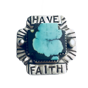 Have Faith Ring