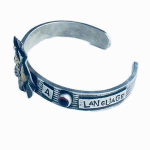 The Heart Needs A Language Bracelet