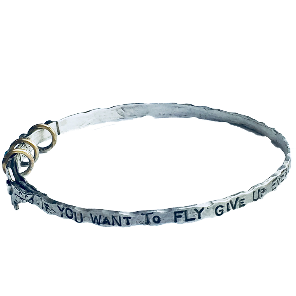 If You Want To Fly Bangle