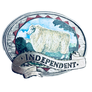 Independent Belt Buckle