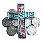 Jesus Saves Buckle