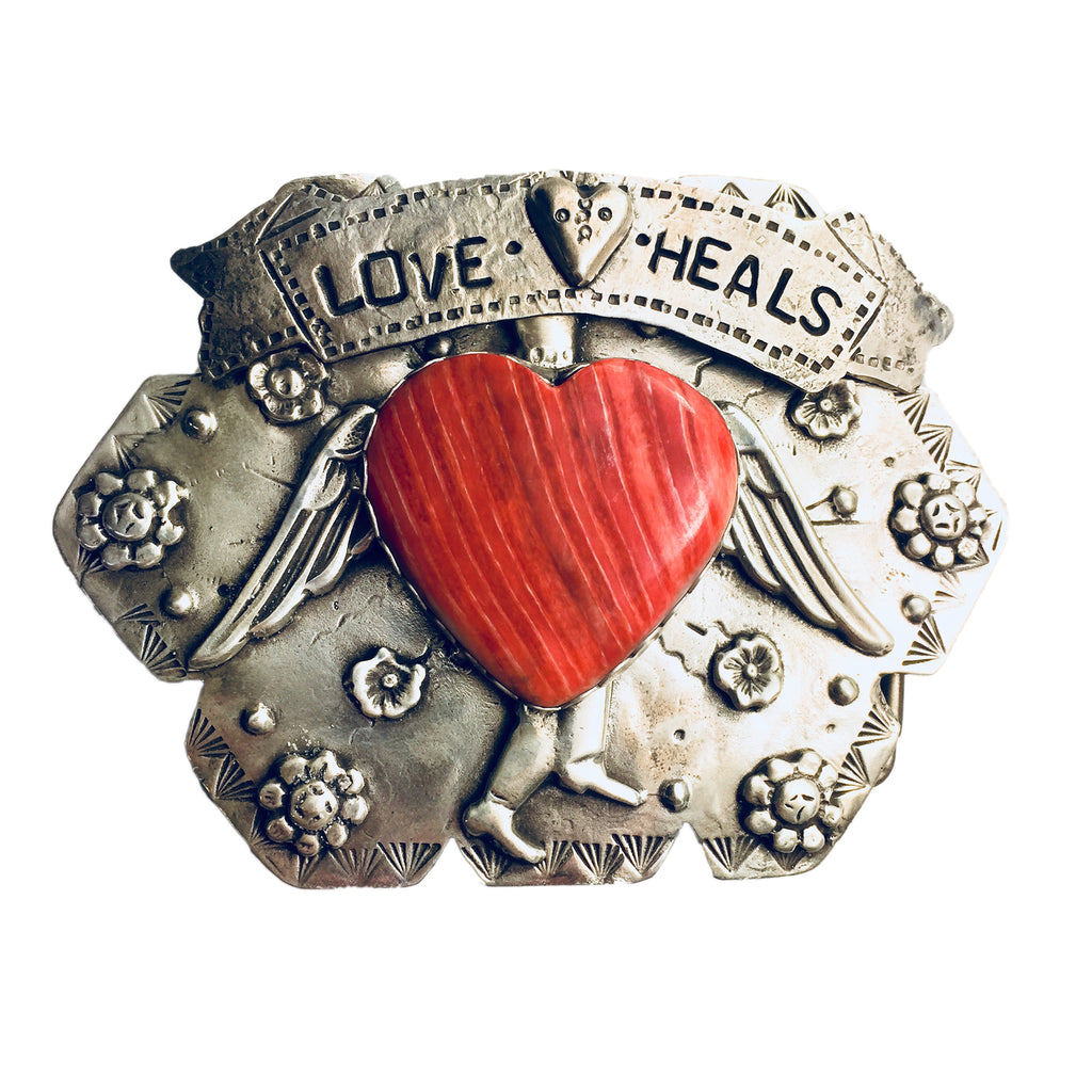 Love Heals Belt Buckle