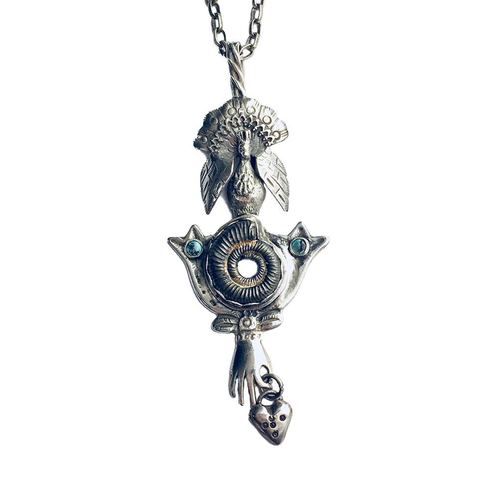 Nautilus Heart Necklace