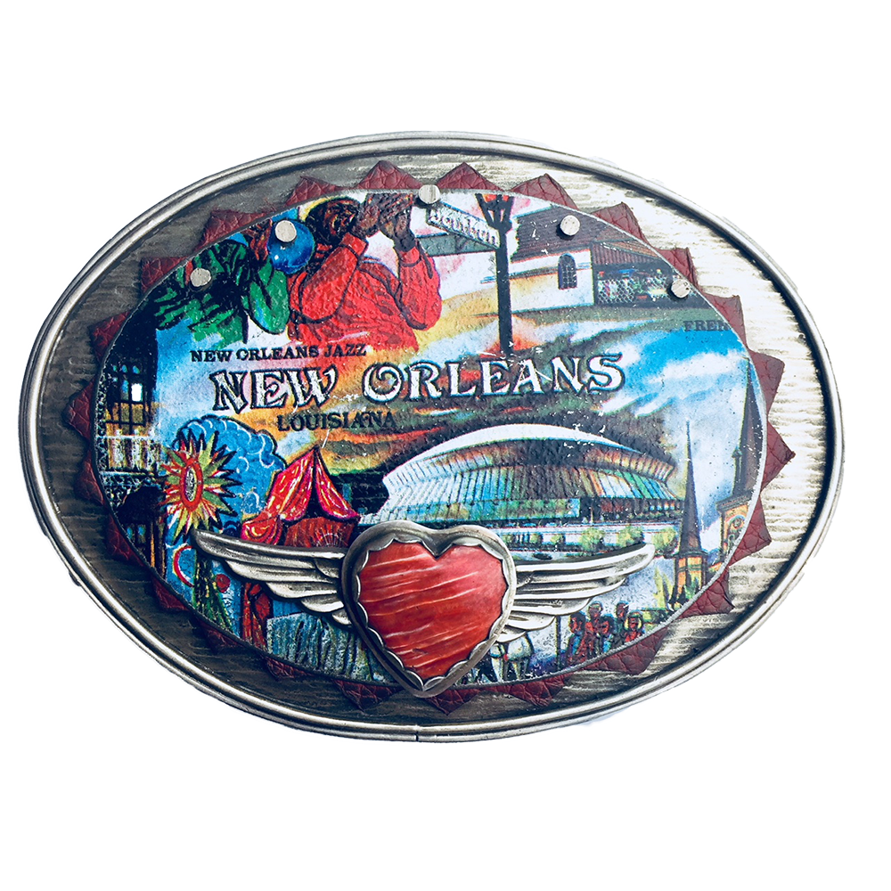 Heart Of New Orleans Buckle