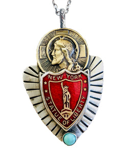 Pray For Us Pendant