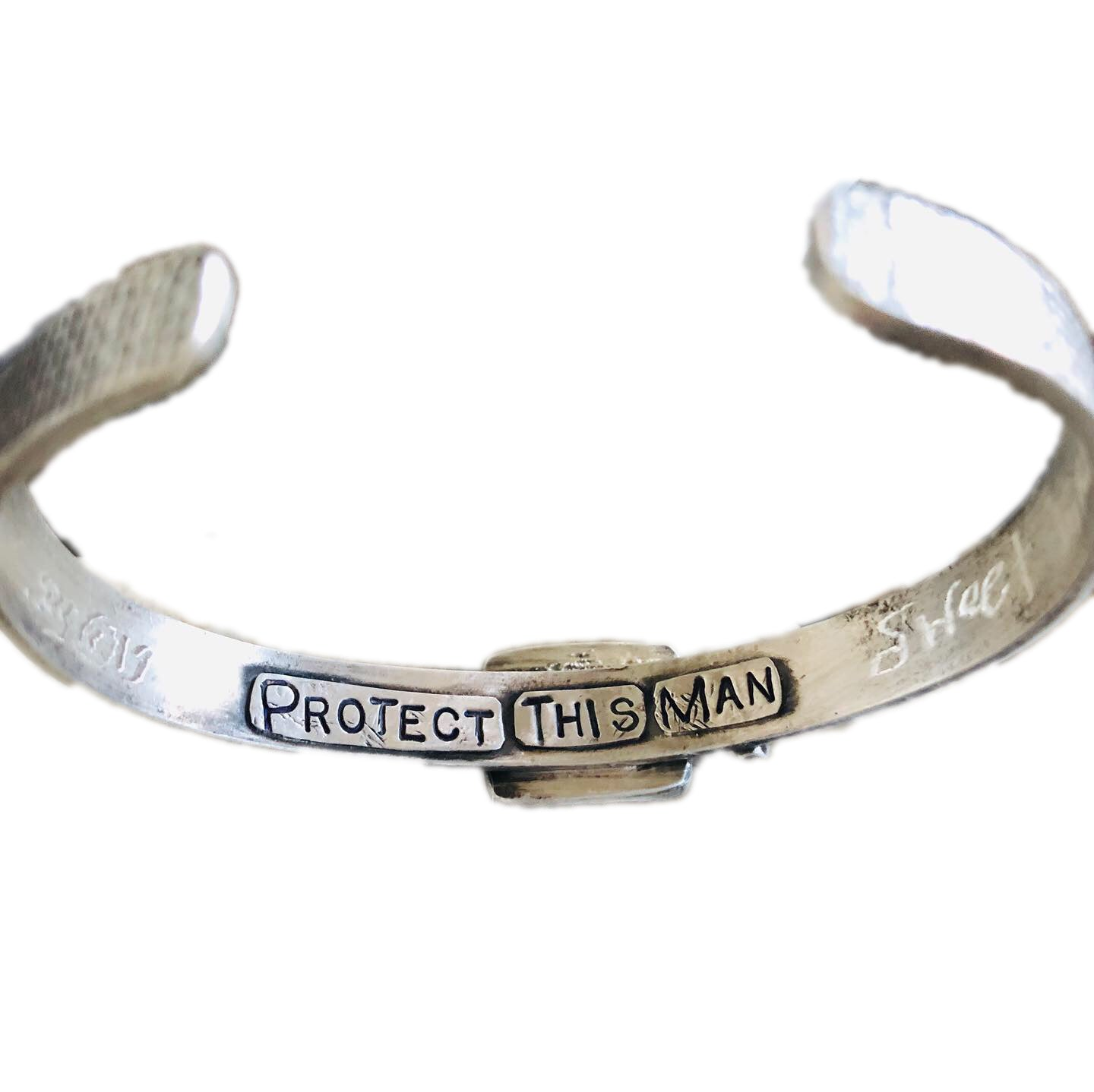 Art As Prayer Cuff Bracelet