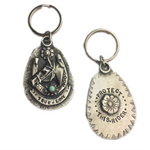 Protect This Rider Key Chain