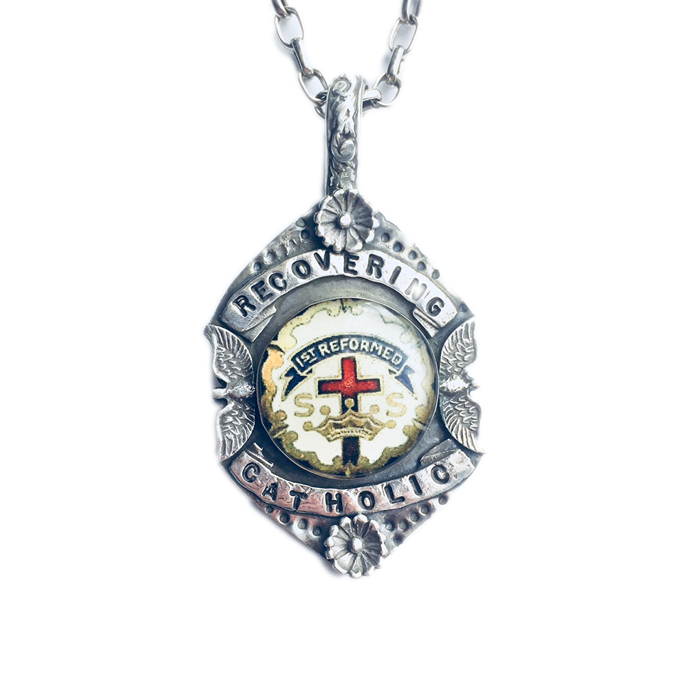 Recovering Catholic Necklace