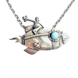 Rocket Girl Necklace