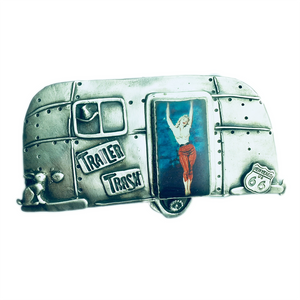 Trailer Trash Buckle