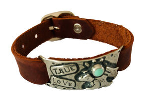 True Love Leather Bracelet