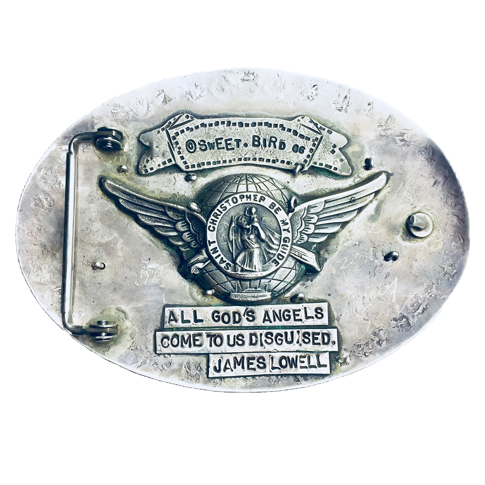 Walks With Angels Buckle