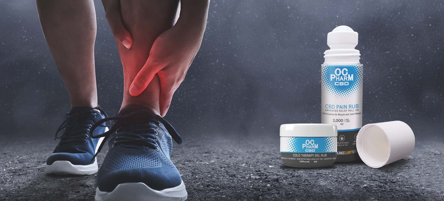 Introducing our new CBD Pain Rub and Cold Therapy Gel