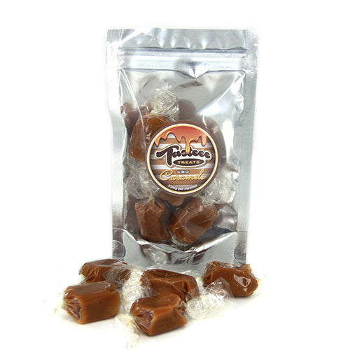 CBD Infused Caramel Candies