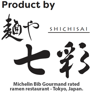 My Ramen - Legendary Bib Gourmand Shichisai handmade ramen noodles in instant form. 100% natural ingredients - Contains no MSG, chemicals, preservatives or additives