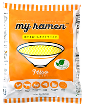 100% Natural Highest Quality Traditional Japanese MSG Free, Chemical Free, Preservative Free, Miso Flavor My Ramen Instant Ramen created by Menya Shichisai Ramen Restaurant